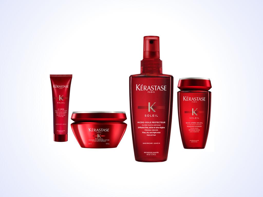 Sun Protection For Hair With Kérastase Soleil