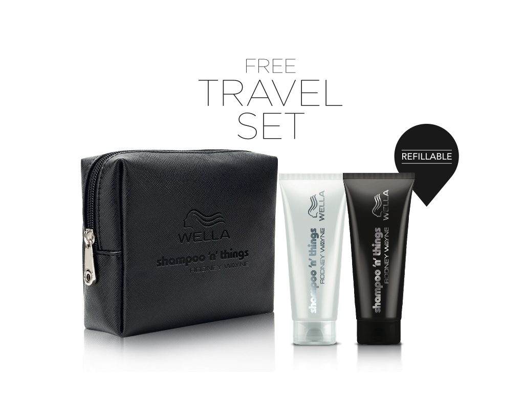 Travel Well with your FREE Wella Travel Set