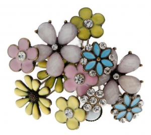 Kokoro Bloom Bouquet Of Flower Hair Pins